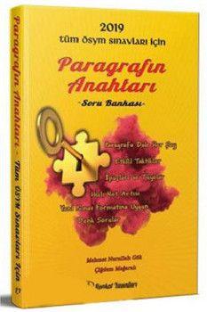 Liyakat Yayınları 2019 Tüm ÖSYM Sınavları İçin Paragrafın Anahtarı Soru Bankası