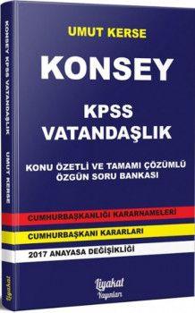 Liyakat Yayınları KPSS Vatandaşlık Konsey Konu Özetli Tamamı Çözümlü Özgün Soru Bankası