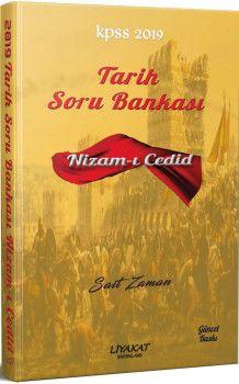 Liyakat Yayınları 2019 KPSS Tarih Nizamı Cedid Soru Bankası