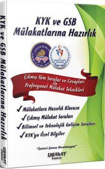 Liyakat Yayınları KYK ve GSB Mülakatlarına Hazırlık Hızlı Soru Cevap Tekniği