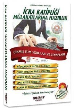 Liyakat Yayınlarıİcra Katipliği ve Müdür Yardımcılığı Mülakatlarına Hazırlık Çıkmış Tüm Sorular ve Cevapları