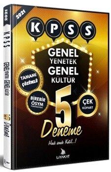 Liyakat Yayınları2021 KPSS Tamamı çözümlü 5 Deneme
