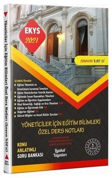 Liyakat Yayınları2021 MEB EKYS Yöneticiler İçin Eğitim Bilimleri Ders Notları Konu Anlatımlı Soru Bankası
