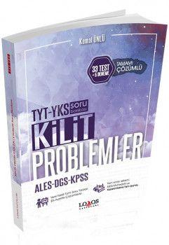 Lodos Yayınevi YKS TYT KPSS ALES DGS Kilit Problemler Tamamı Çözümlü Soru Bankası