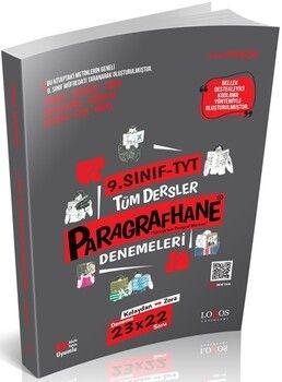 Lodos Yayınları 9. Sınıf TYT Paragrafhane Deneme Kitabı
