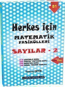 Lodos Yayınları Herkes İçin Matematik Fasikülleri Sayılar 2