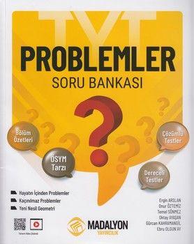 Madalyon Yayınları Problemler Soru Bankası