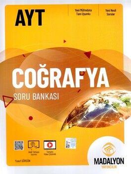 Madalyon Yayınları AYT Coğrafya Soru Bankası
