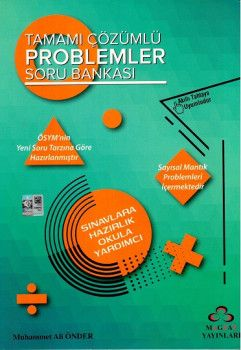 Magzay Yayınları Problemler Tamamı Çözümlü Soru Bankası