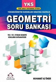 Magzay Yayınları YKS 1. ve 2. Oturum TYT AYT Geometri Soru Bankası