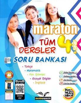 Maraton Yayınları 4. Sınıf Tüm Dersler Soru Bankası