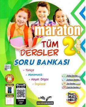 Maraton Yayınları 2. Sınıf Tüm Dersler Soru Bankası