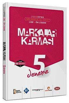 Marka Yayınları 2020 KPSS Lise Ön Lisans Markalar Karması 5 Farklı Yayın 5 Farklı PDF Çözümlü Deneme Sınavı Seti