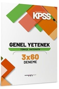 Marka Yayınları 2020 KPSS Genel Yetenek 3 x 60 Deneme Sınavı