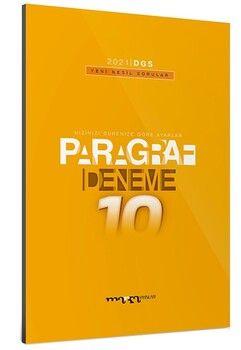 Marka Yayınları 2021 DGS Paragraf Yeni Nesil 10 Deneme