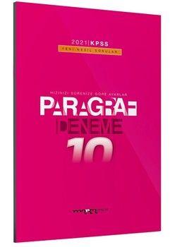 Marka Yayınları 2021 KPSS Paragraf Yeni Nesil 10 Deneme