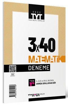 Marka Yayınları 2022 TYT Matematik 3 x 40 Deneme