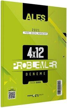 Marka Yayınları ALES Problemler Yeni Nesil 4x12 Tamamı Video Çözümlü Deneme
