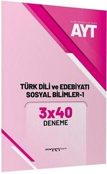 Marka Yayınları AYT Türk Dili ve Edebiyatı Sosyal Bilimler 1 3x40 Deneme