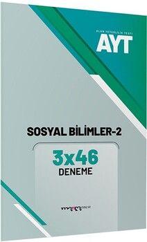 Marka Yayınları AYT Sosyal Bilimler 2 3x46 Deneme