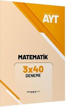 Marka Yayınları AYT Matematik 3x40 Deneme