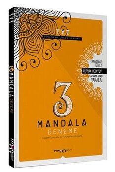 Marka Yayınları TYT 3 Deneme ÖSYM Tarzı 3 Mandala Hediyeli