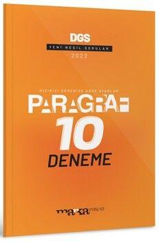 Marka Yayınları2022 DGS Paragraf Yeni Nesil 10 Deneme