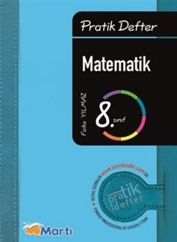 Martı 8.Sınıf Matematik Pratik Defter