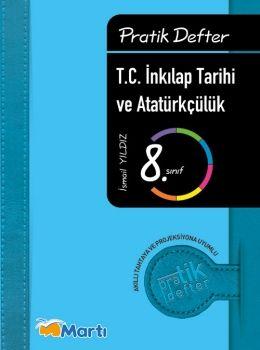 Martı Yayınları 8. Sınıf İnkılap Tarihi ve Atatürkçülük Pratik Defter