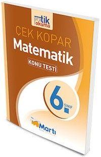 Martı Yayınları 6. Sınıf Matematik Pratik Okuma Konu Testi Çek Kopar