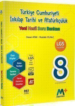 Martı Yayınları 8. Sınıf LGS Türkiye Cumhuriyeti İnkılap Tarihi ve Atatürkçülük Yeni Nesil Soru Bankası