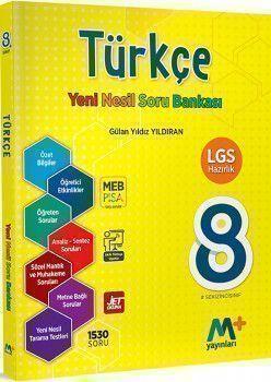 Martı Yayınları 8. Sınıf LGS Türkçe Yeni Nesil Soru Bankası