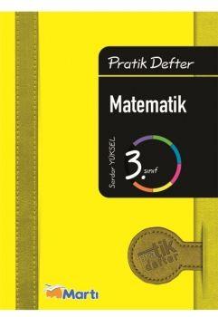 Martı Yayınları 3. Sınıf Matematik Pratik Defter