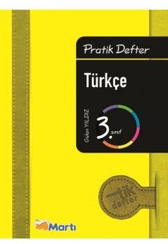 Martı Yayınları 3. Sınıf Türkçe Pratik Defter