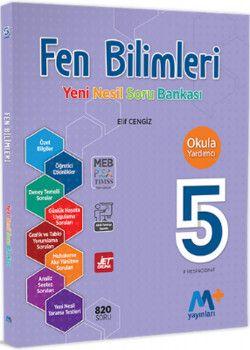 Martı Yayınları 5. Sınıf Fen Bilimleri Yeni Nesil Soru Bankası