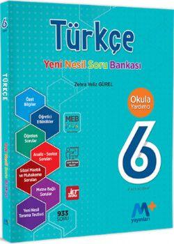 Martı Yayınları 6. Sınıf Türkçe Yeni Nesil Soru Bankası