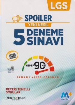Martı Yayınları 8. Sınıf LGS Spoiler 5 Deneme Sınavı