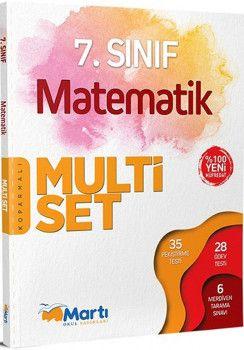 Martı Yayınları 7. Sınıf Matematik Koparmalı Multi Set