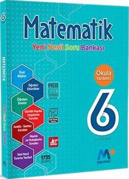 Martı Yayınları 6. Sınıf Matematik Yeni Nesil Soru Bankası