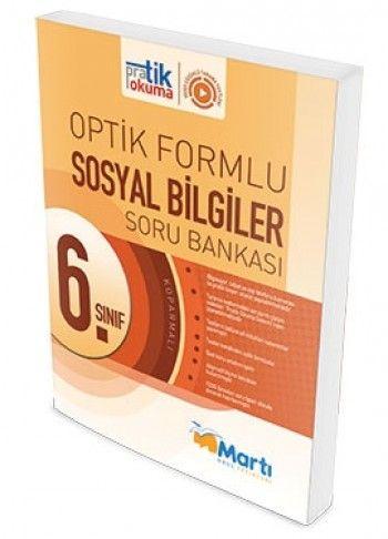 Martı Yayınları 6. Sınıf Sosyal Bilgiler Pratik Okuma Optik Forumlu Soru Bankası