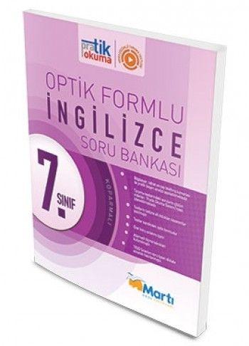 Martı Yayınları 7. Sınıf İngilizce Pratik Okuma Optik Forumlu Soru Bankası