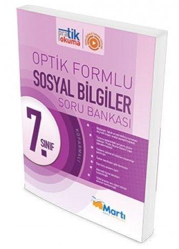 Martı Yayınları 7. Sınıf Sosyal Bilgiler Pratik Okuma Optik Forumlu Soru Bankası