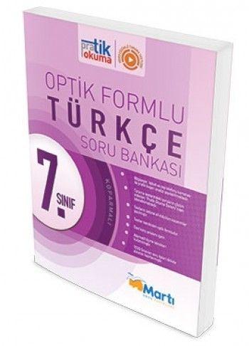 Martı Yayınları 7. Sınıf Türkçe Pratik Okuma Optik Forumlu Soru Bankası