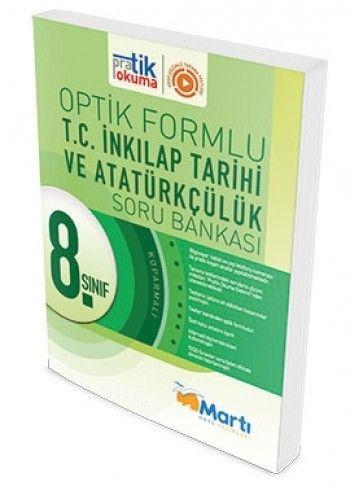 Martı Yayınları 8. Sınıf İnkılap Tarihi Pratik Okuma Optik Forumlu Soru Bankası