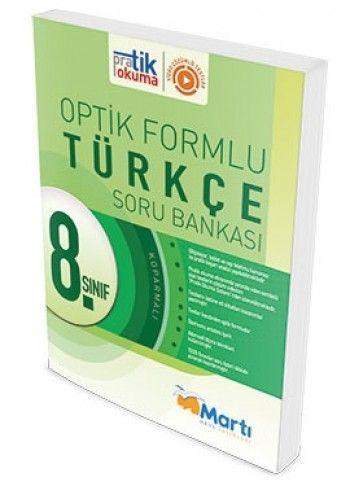 Martı Yayınları 8. Sınıf Türkçe Pratik Okuma Optik Forumlu Soru Bankası