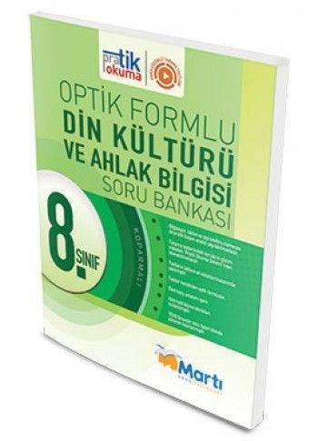 Martı Yayınları 8. Sınıf Din Kültürü ve Ahlak Bilgisi Pratik Okuma Optik Forumlu Soru Bankası