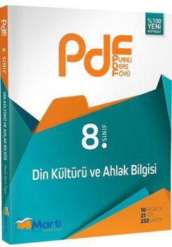 Martı Yayınları 8. Sınıf PDF Din Kültürü ve Ahlak Bilgisi