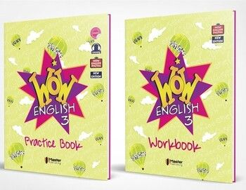 Master Publishing 3. Sınıf WOW English Practice Book & Workbook