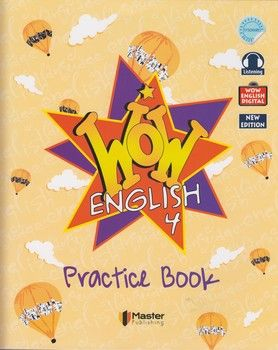 Master Publishing 4. Sınıf WOW English Practice Book Workbook
