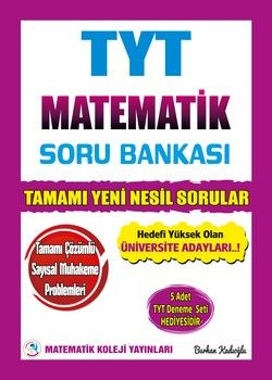 Matematik Koleji Yayınları TYT Matematik Soru Bankası